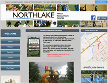 Tablet Preview of northlakerec.org